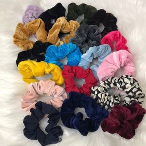 Scrunchy bundle colorful hair scrunches lot of 19